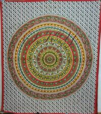 INDIAN PSYCHEDELIC GYPSY ELEPHANT TAPESTRY BEDSPREAD WALL HANGING DECOR HOME 19S