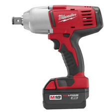 Milwaukee 2664-22 M18 18-Volt 3/4' High-Torque Impact Wrench w/ Batteries