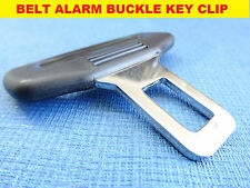 SEAT IBIZA LEON BLACK SEAT BELT ALARM BUCKLE KEY CLIP SAFETY CLASP STOP