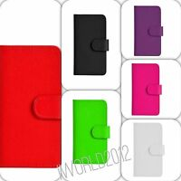 Leather Wallet Book Flip Case Cover For Apple iPhone 4 4s 5 5s 5c 6 6s plus