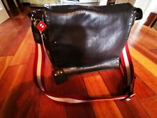 Rare Designer Vintage Bally Satchel Leather.