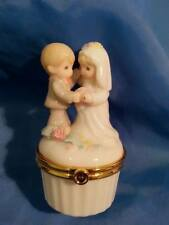 "Precious Moments collectible figurine "" Wedding Couple""   wedding cake topper"