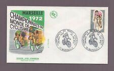 FDC 1972 - Championnats du Monde de cyclisme - MARSEILLE 1972   (1867)
