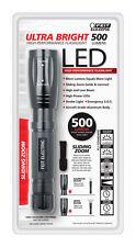 FEIT Electric  Ultra Bright  500 lumens Flashlight  LED  C  Black