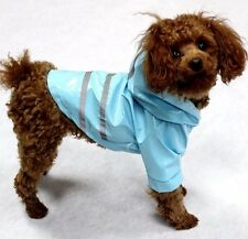 Hundemantel Regenmantel Hundebekleidung Hundejacke Chihuahua S Yorky Blau NEU