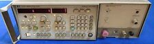 Agilent HP 8350B Sweep Oscillator w/86240B RF Plug-in