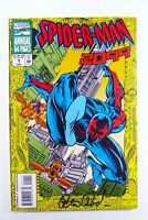 Marvel SPIDER-MAN 2099 (1994) ANNUAL #1 SIGNED by Peter DAVID w/COA VF (8.0)