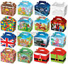 30 Childrens Party Boxes - Choose From 17 Designs - Bag Lunch Meal Bag Themed