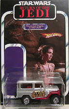Matchbox CUSTOM TOYOTA LAND CRUSER Star Wars Carrie Fisher Princess Leia Tribute