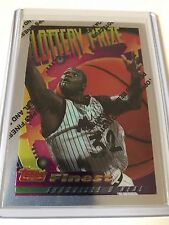 1994-95 TOPPS FINEST BASKETBALL LOTTERY PRIZE 22 CARD SET INC SHAQUILLE O'NEAL