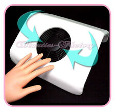 Nail Art Dust Suction Collector Manicure Filing Acrylic Gel Tip White #72W/#92W