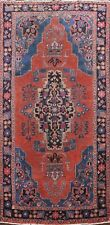 Antique Geometric Ardebil Hand-knotted Area Rug Home Decor Oriental 4'x8' Carpet