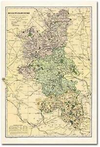 Buckinghamshire (1900): Cassini Historical Map (BCO-BUC) by Cassini Publishing L