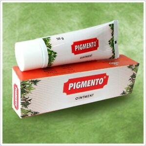 2 x Charak Herbal Pigmento Ointment Cream for Vitiligo White Patches Skin 50g