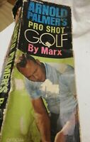Official Arnold Palmer's Pro Shot Mini Golf By Marx