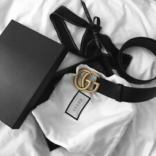 Okazja Czarny Pasek GG Gucci Marmont Lux Premium