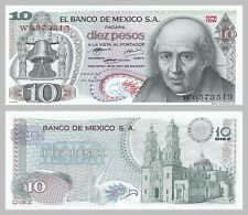 Mexiko / Mexico 10 Pesos 1972 p63e unz.