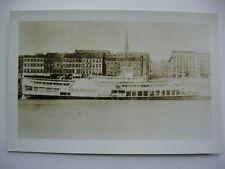 1800's R.R. SPRINGER, PADDLE BOAT, STEAMSHIP PHOTOGRAPH