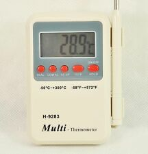 Digital food thermometer for Grill/Oven/BBQ Meat/Steak,kitchen cooking probe
