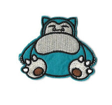 Pokemon - Snorlax  - Game - Go - Embroidered Iron On Applique Patch