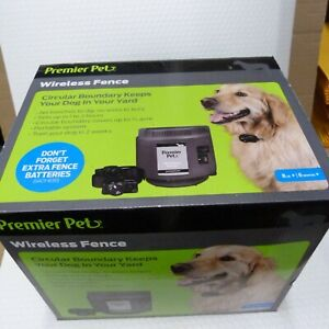 Premier Pet Wireless Fence Pet Containment GIF00-16347