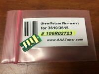 106R02723 (New firmware) Toner Chip for Xerox Phaser 3610 WC 3615 Refill