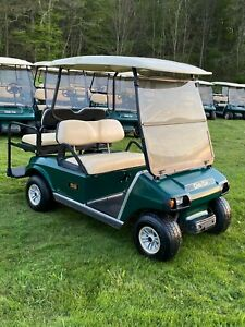 2008 Club Car DS Golf Cart GAS 4 seater + lights !     100 carts in stock !