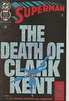 °SUPERMAN 100 THE DEATH OF CLARK KENT°US DC 1994 Collector's Edition Dan Jurgens