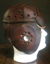 NICE Old Antique Early 1930's DRAPER MAYNARD 58H Leather Vintage Football Helmet