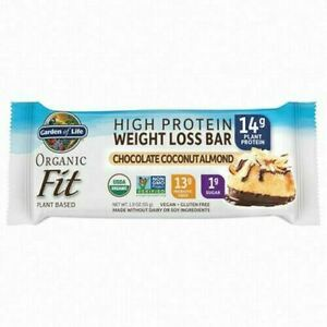 Organic Fit Bar Chocolate Coconut Almond 12 Count