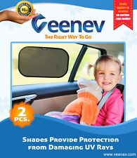 Car Side Window Sunshade - Protects your kids and pets in the back seat from sun