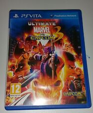 Ultimate Marvel Vs. CAPCOM 3 Sony Playstation Vita PSV PS contro GIOCO ULTRA RARA