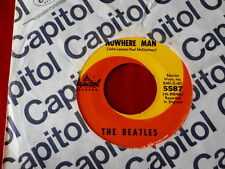 BEATLES~ NOWHERE MAN~ VG++~WHAT GOES ON~ CAPITOL 5587~ ~ POP 45
