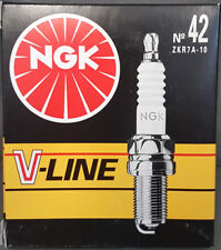 4x NGK Bujía de encendido V-Line 42 97472 zkr7a-10 Alfa Fiat Ford Lancia #