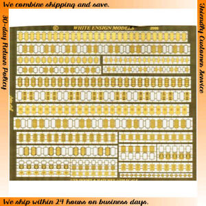 White Ensign Models Photo-etched parts for 1/350 USN Doors PE3592
