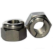 M12 in acciaio inox A4 aerotight tutti metallo dadi di bloccaggio collettori di scarico (2 parti)