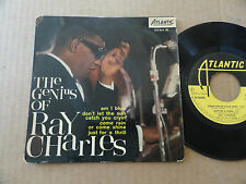 "DISQUE 45T DE RAY CHARLES  "" AM I BLUE """