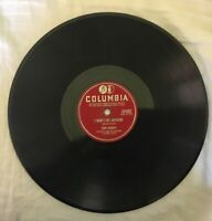 78 RPM Columbia Records Vintage Tony Bennett-I Won't Cry Anymore/Because of You