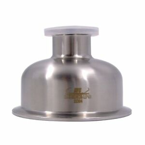 "HFS(R) 1.5"" X4"" Sanitary Tri Clamp Bowl Reducer - Stainless"