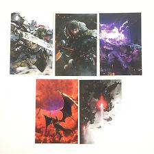 Lot 5 Cartes Art Cards Exclusives Final Fantasy XIV 14 Online A Realm Reborn PS3