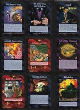 ALL 100 RARE SET - UNLIMITED 1995 - Illuminati INWO Card Game  ***HIGH GRADE***
