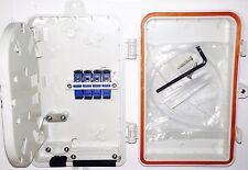 Fiber optic terminal box,Fiber Wall Outdoor Splice/Distri. panel,4Cores FTTH box