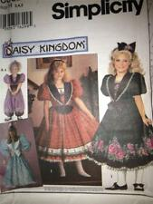 Sewing Pattern 0682 Simplicity Daisy Kingdom Girls Dress & Romper Size 6-8 Uncut