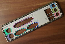 Seltene Mainboard Blende IO I/O Shield Backplate Nr.22 M-B60 REV B (A4)