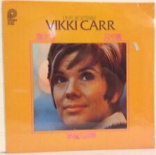 Vikki Carr / Unforgettable sealed VINYL LP 1978 female vocalist