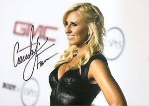 Courtney Force Sexy NHRA FUNNY CAR 5x7 Photo Signed Auto