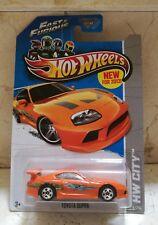 Hot Wheels '94 TOYOTA SUPRA Fast & Furious . A todo Gas. PAUL WALKER Oficial
