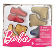 Barbie Ken Shoes Pack - Barbie Accessories - Mattel - New - Free Shipping