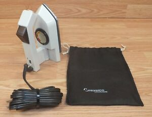 Genuine Vintage Norelco (TI-65) Folding Travel Electric Clothes Iron Only *READ*