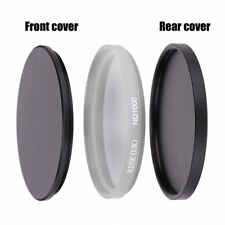 82mm Round Slim Lens Filter Protective filter stack cap Set metal filter case